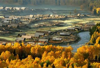 9 10月深秋喀纳斯摄影团 白沙湖 喀纳斯三大景区 可可托海(9日行程)