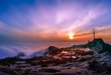 户外340期 登五岳之尊泰山 赏花海云海日出日落(2日行程)
