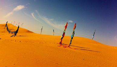 库布齐沙漠西线穿越 走进 一带一路 上的沙漠绿(4日行程)