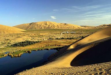 重走驼盐古道 穿越乌兰布和沙漠 仰望星空 听风沙声(5日行程)