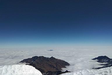 贡嘎南坡 金银山 难度大于那玛峰 6000米晋级雪山(10日行程)