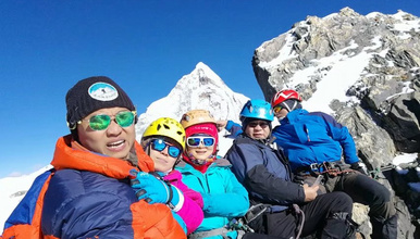 四姑娘山三峰5355攀登 技术性雪山入门级(4日行程)
