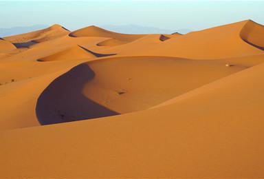 大漠色彩之旅 腾格里沙漠轻装徒步(5日行程)