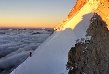 贡嘎金银山 难度大于 玉珠峰 6000米晋级雪山(10日行程)