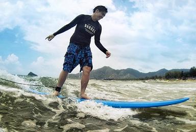 周末 深圳西冲学冲浪 享受冲浪带来的肾上腺素飙升的快感(2日行程)