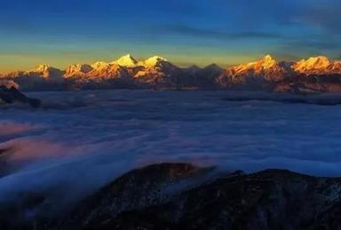 牛背山 2 5日 360度观景平台 最美牛背山摄影之旅(3日行程)