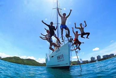 深圳大鹏游艇会周末2天学帆船 试水爱游游体育旅游感受(1日行程)