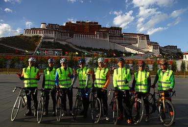 318川藏线骑行专业后勤车保障服务团 轻松 安全 放心(24日行程)