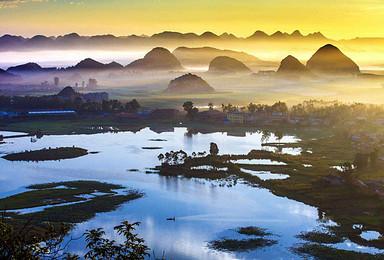 云南夏季抚仙湖风光 建水古城 普者黑 罗平 风光古建摄影团(8日行程)