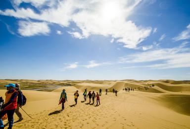包头集合 纵贯库布齐 到离城市最近的沙漠(5日行程)