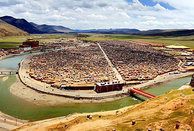 探秘世界最大觉姆岛 亚青寺朝圣越野环线(5日行程)