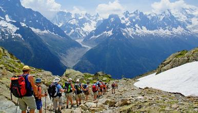 穿越法意瑞 人生一定要完成一次的勃朗峰环线(8日行程)