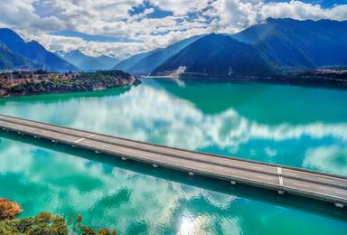 世界顶级的线路在西藏 最美川藏318(9日行程)