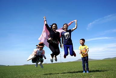 呼伦贝尔亲子游 蒙古族文化 民俗特色体验 贵族亲子夏令营(6日行程)