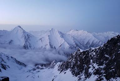雪山攀登  四姑娘山大峰攀登 圆梦雪山(3日行程)