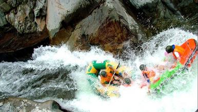 清远青龙峡漂流 笔架山千古溪探险 戏水 玩水 打水仗一天游(1日行程)