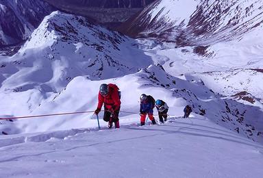 换个角度看贡嘎 5588米那玛峰 1比2协作加装备(6日行程)