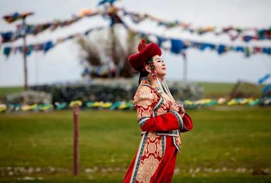 呼伦贝尔旅游6天6晚穿越草原 私家蒙古包 民俗体验 赠骑马(6日行程)