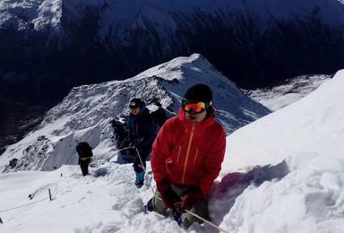 踏寻户外全年计划四姑娘山二峰雪山攀登(3日行程)