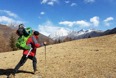 踏寻户外 四姑娘山长坪沟徒步适应海拔 加二峰雪山攀登(6日行程)