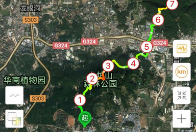 5月12日 免费活动 走经典广州徒步拉链线路   火凤线(1日行程)
