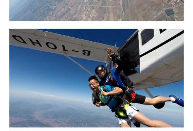 阳江跳伞(1日行程)