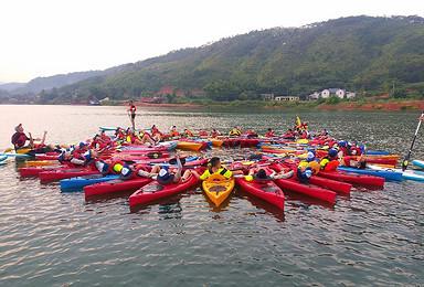 万绿湖之皮划艇夏令营  我是奥运小选手(6日行程)
