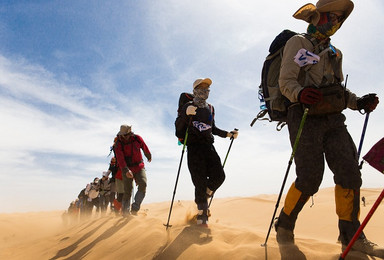 徒步腾格里  大漠黄沙 寻天鹅湖之梦(3日行程)
