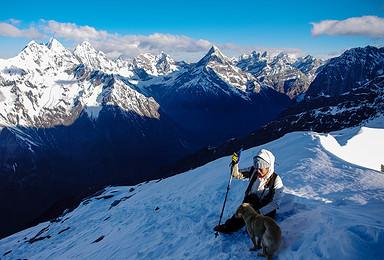 入门级雪山 四姑娘山二峰攀登 天天发团 一人也随时走 挑战人生第一座雪山(4日行程)