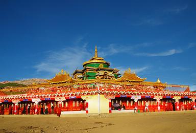 探索藏北秘宗走进康巴文化 色达德格印经院亚青寺措卡湖深度之旅(8日行程)