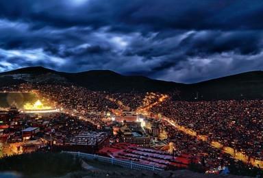 秘境环线 绝美莫斯卡 党岭 葫芦海 色达 丹巴藏寨(7日行程)