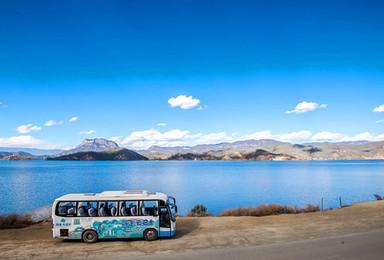 泸沽湖拼车自由行 往返车 门票 保险 正规旅游巴士(3日行程)