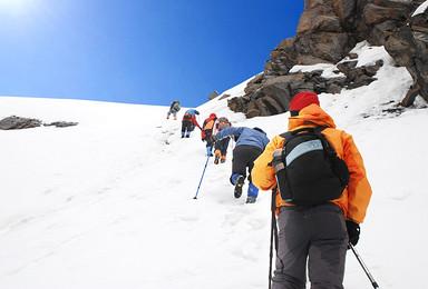 四姑娘山  大峰   攀登计划(3日行程)