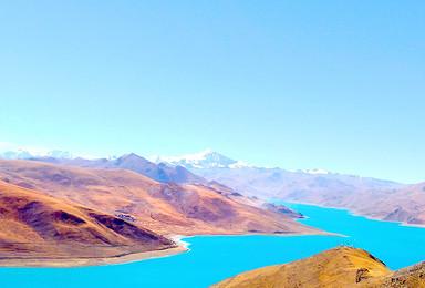 圆梦西藏 羊湖 纳木错 雅鲁藏布大峡谷 巴松错(8日行程)