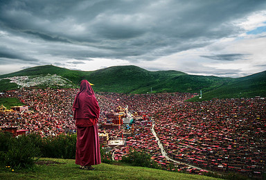 走进西藏 色达 稻城亚丁 川藏线 全程越野(10日行程)