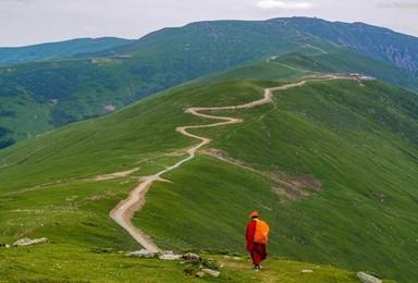 五台山  去五爷庙拜佛 徒步穿越五台山 邂逅美丽雪山飞狐(3日行程)