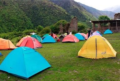 休闲露营 孟屯河谷 离成都最近的露营基地 轻松2日游(2日行程)