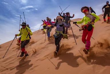 高端沙漠线路之徒步穿越腾格里沙漠寻找仓央嘉措的足迹(5日行程)