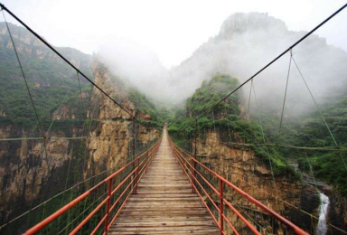 河南省林州市 红旗渠的故乡 太行大峡谷桃花谷 天路(3日行程)