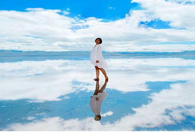 青海湖茶卡盐湖3日摄影游 骑行 徒步 沙漠 草原 祈福 篝火(3日行程)