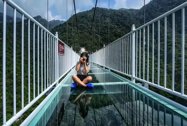 网红3D玻璃桥 皮划艇 空中吊桥 你敢来挑战么(1日行程)