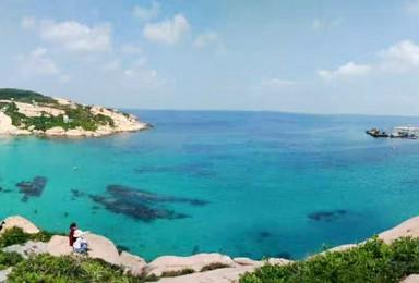 每周六出发 广东 小马尔代夫 梦幻庙湾岛2天1夜休闲之旅(2日行程)