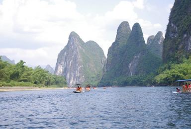漓江竹筏体验 遇龙河徒步 象鼻山游览 邂逅不一样的桂林风光(4日行程)
