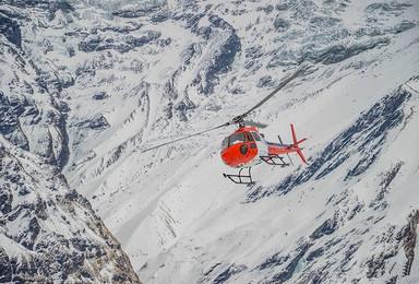 博卡拉安纳普尔纳国家公园体验游览ABC大本营 直升机体验(1日行程)