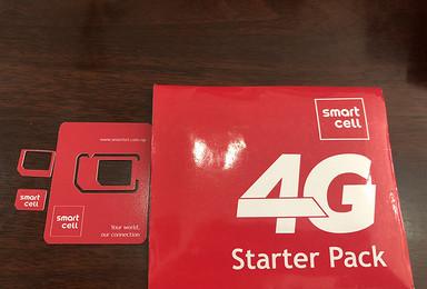 尼泊尔3G 4G电话卡Ncell 可以打电话(20日行程)