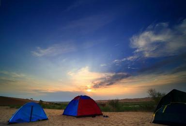 腾格里沙漠露营2天1晚(2日行程)