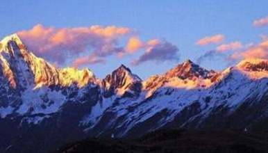 挑战人生的第一座五千米高峰   雪山攀登  四姑娘山大峰(3日行程)