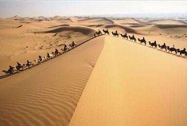 轻装徒步腾格里沙漠(5日行程)