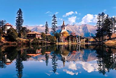 走进康巴文化孤岛 色达 德格印经院 亚青寺 措卡湖(8日行程)
