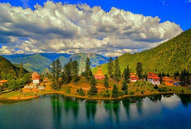 藏北秘宗 走进康巴文化孤岛 色达 德格印经院 亚青寺 措卡湖(8日行程)